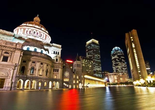 Prudential Reflection, Boston. Jedno ze zdjęć prezentowanych na wystawie