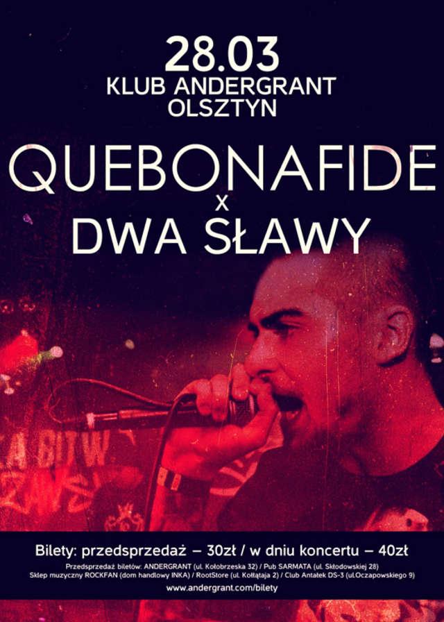Dwa Sławy z albumem Ludzie Sztosy i Quebonafide w Olsztynie - full image