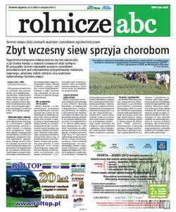 Rolnicze ABC - sierpień 2012