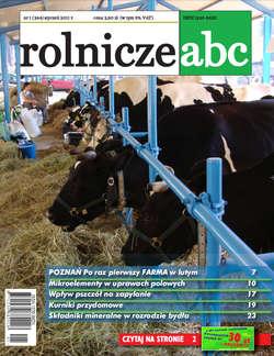 Rolnicze ABC - styczeń 2011