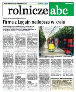 Rolnicze ABC - październik 2012