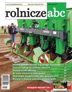 Rolnicze ABC - październik 2010