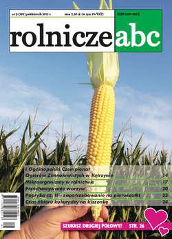 Rolnicze ABC - październik 2011