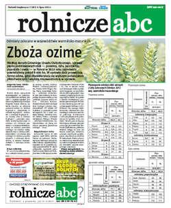 Rolnicze ABC - lipiec 2012