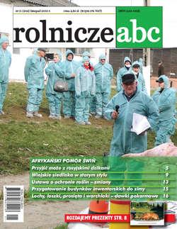Rolnicze ABC - listopad 2010