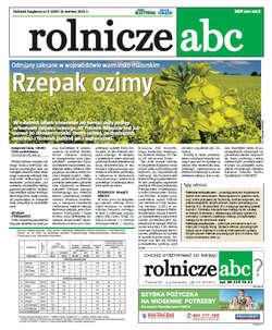 Rolnicze ABC - czerwiec 2012