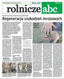 Rolnicze ABC - kwiecień 2012