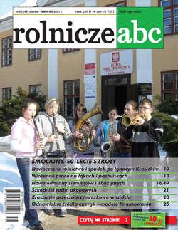 Rolnicze ABC - marzec/kwiecień 2011