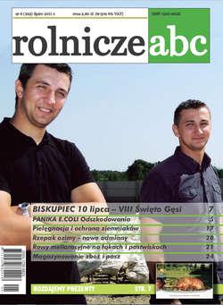 Rolnicze ABC - lipiec 2011