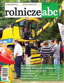 Rolnicze ABC - sierpień 2010
