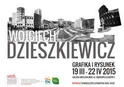 Wernisaż wystawy grafiki Wojciecha Dzieszkiewicza