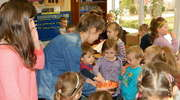 Zajęcia z przedszkolakami