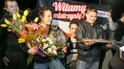 Joanna Jędrzejczyk w Olsztynie! Kibice powitali mistrzynię UFC