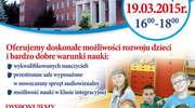 Zapraszamy na Dzień Otwarty do Zespołu Szkół nr 1 w Bartoszycach