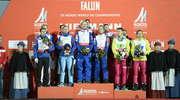 Polska drużyna skoczków narciarskich z brązowym medalem mistrzostw świata