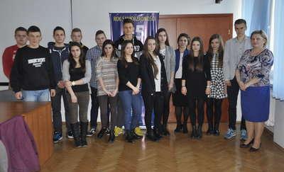Żuromin. Uczniowie spotkali się z Burmistrz
