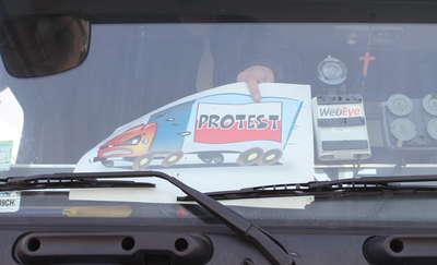 Z Olsztyna do Barczewa w dwie godziny. Strajk przewoźników zablokował ruch