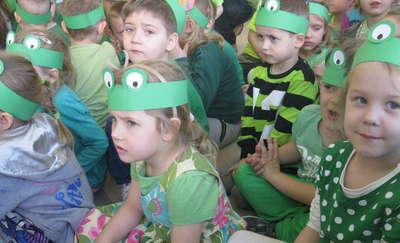 Święto Wiosny w Miejskim Przedszkolu w Białej Piskiej
