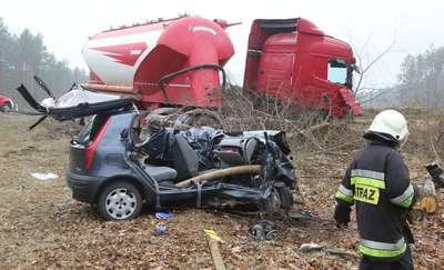Tragiczny wypadek na drodze krajowej nr 51. Zginęła młoda mławianka