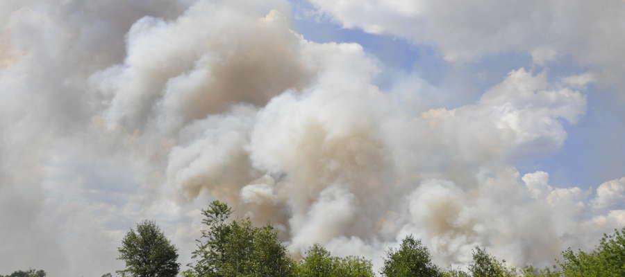 Wypalanie traw może doprowadzić do trudnych do ugaszenia pożarów