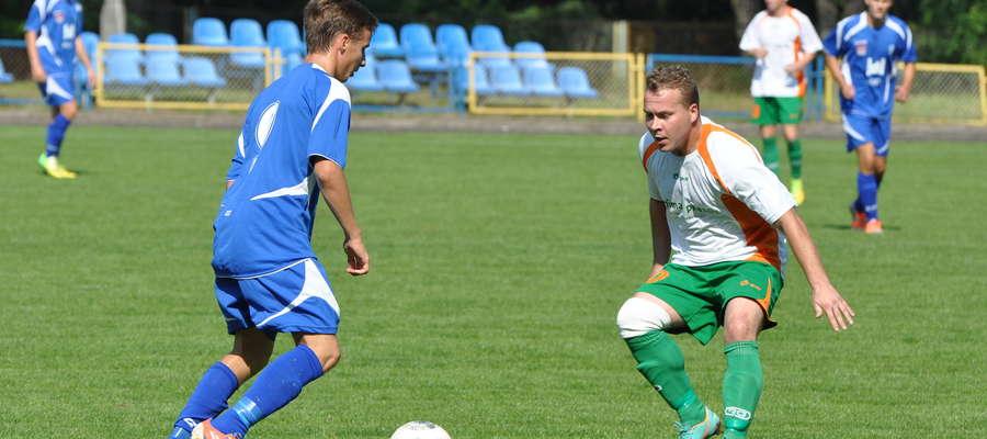 Piotr Melchinkiewicz (z prawej) zagra w Borucie