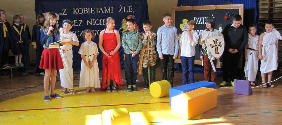 Impreza z okazji święta kobiet w Biskupcu Pomorskim