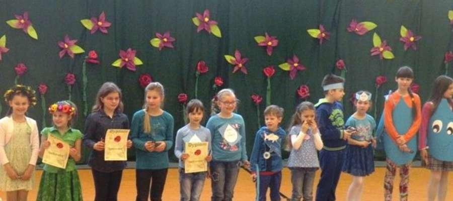 Powitanie wiosny w kurzętnickiej szkole