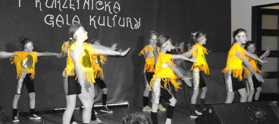 Występ jednej z formacji tanecznych z GCK