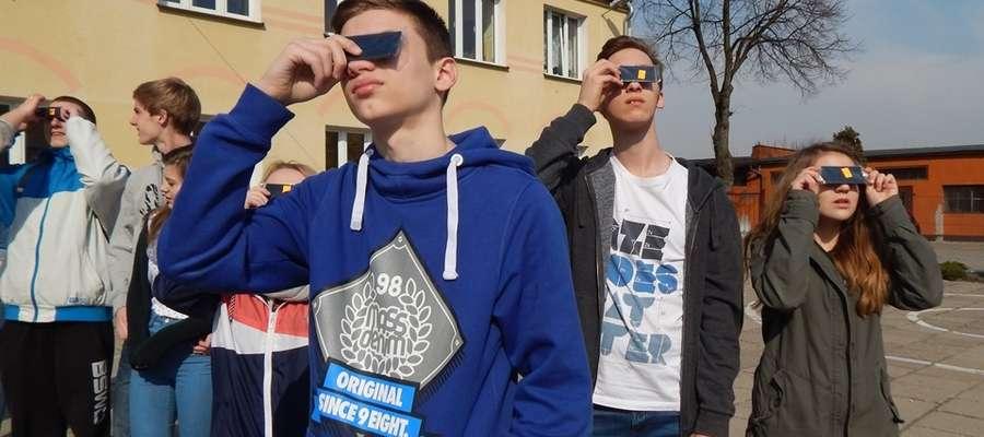 Obserwacje zaćmienia u Filomatów Nowomiejskich