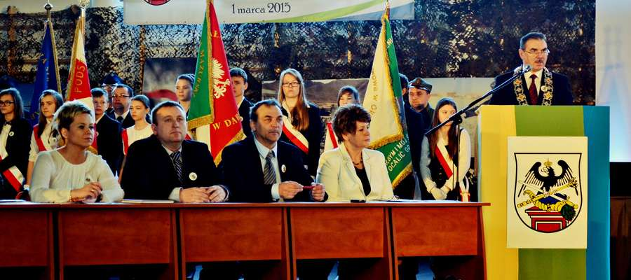 Uroczysta sesja poświęcona obchodom 290-lecia Orzysza