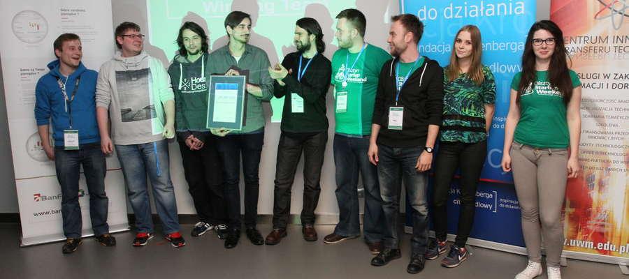 Główną nagrodę - czteroosobową wycieczkę do londyńskiego oddziału Google - zdobył projekt Finding Blooodie