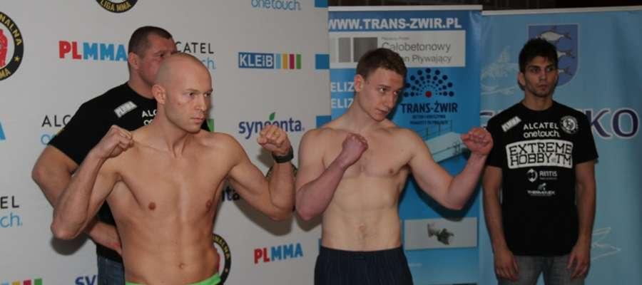 Prezentacja zawodników 53. Gali PL MMA w Hotelu St. Bruno