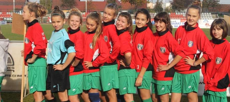Młode, zdolne piłkarki z gminy Wydminy