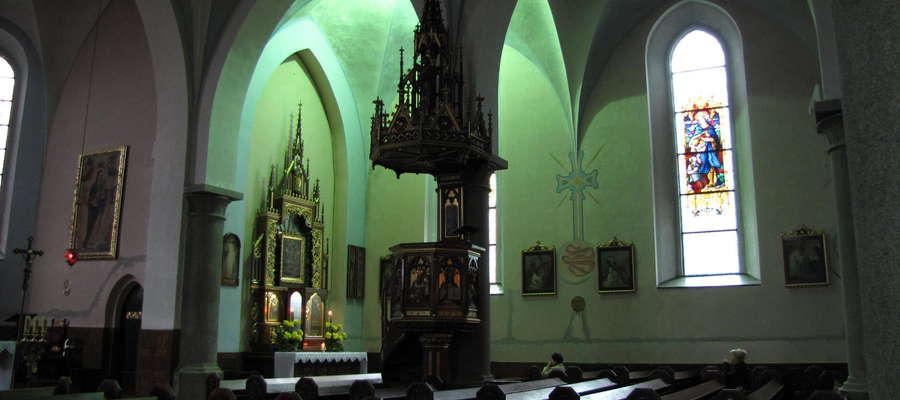 Do zdarzenia doszło w kościele Niepokalanego Poczęcia NMP w Ostródzie