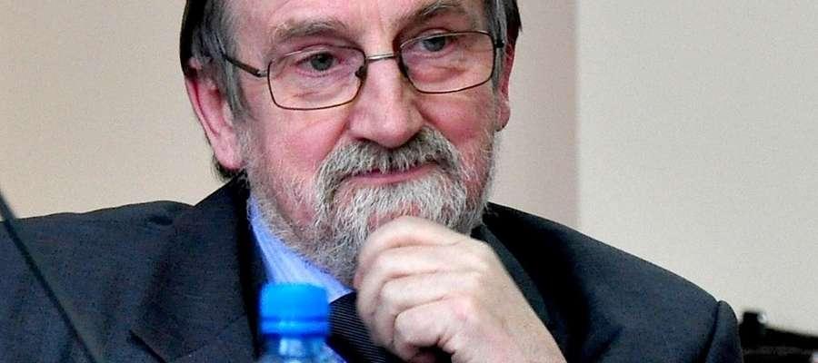 Andrzej Lewandowski, prezes Towarzystwa Miłośników Ziemi Iławskiej