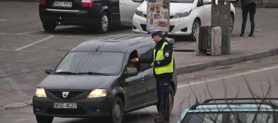 Policjanci z drogówki kontrolowali trzeźwość kierowców