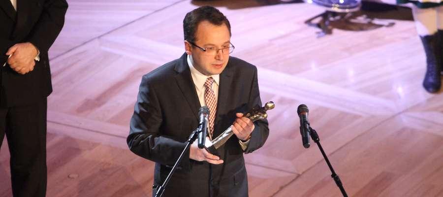 Prof. dr hab. inż. Andrzej Krankowski z UWM, Osobowość Roku w kategorii