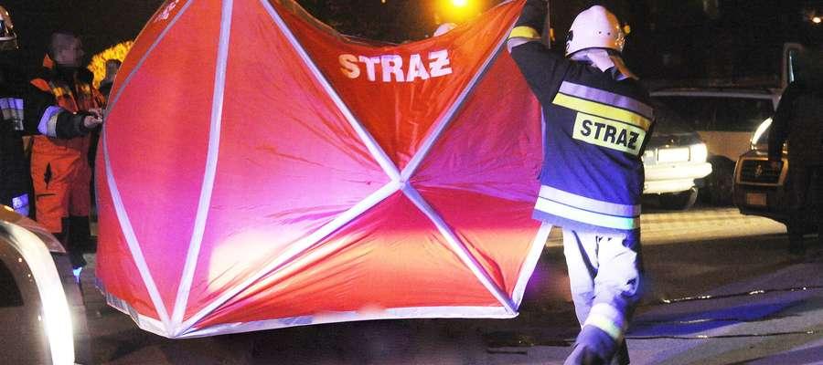 W środę wieczorem w Dobrym Mieście śmiertelnie potrącona została 80-letnia kobieta
