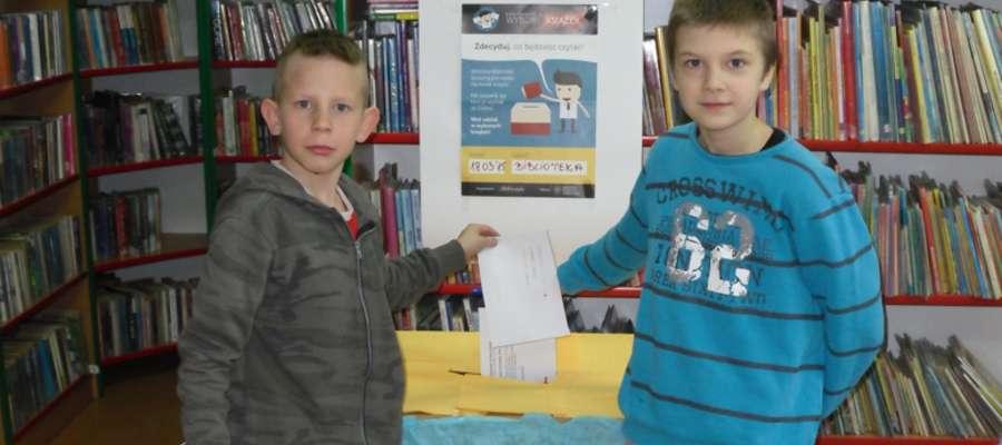 W bibliotece w Woźnicach odbyły się Ogólnopolskie Wybory Książek