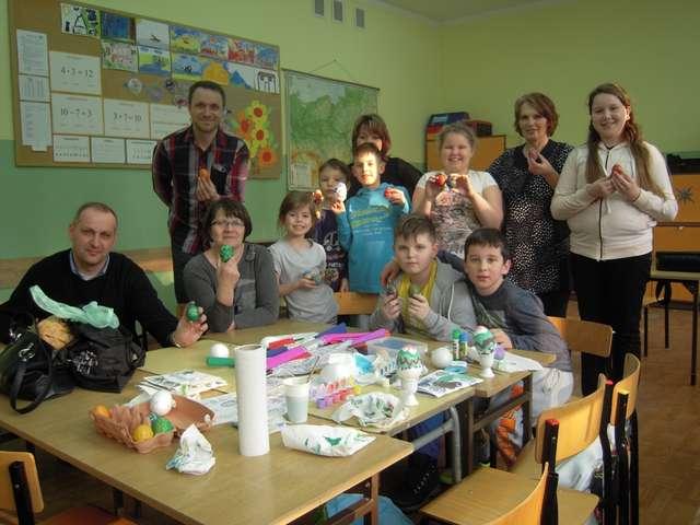 Ukraińska pisanka wielkanocna - full image