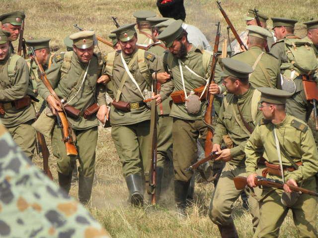 Bitwa pod Tannenbergiem z afrykańskim akcentem - full image