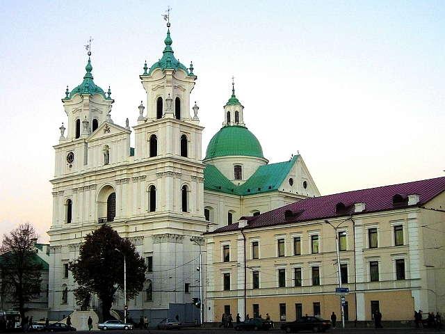 Grodno: bazylika katedralna św. Franciszka Ksawerego - full image