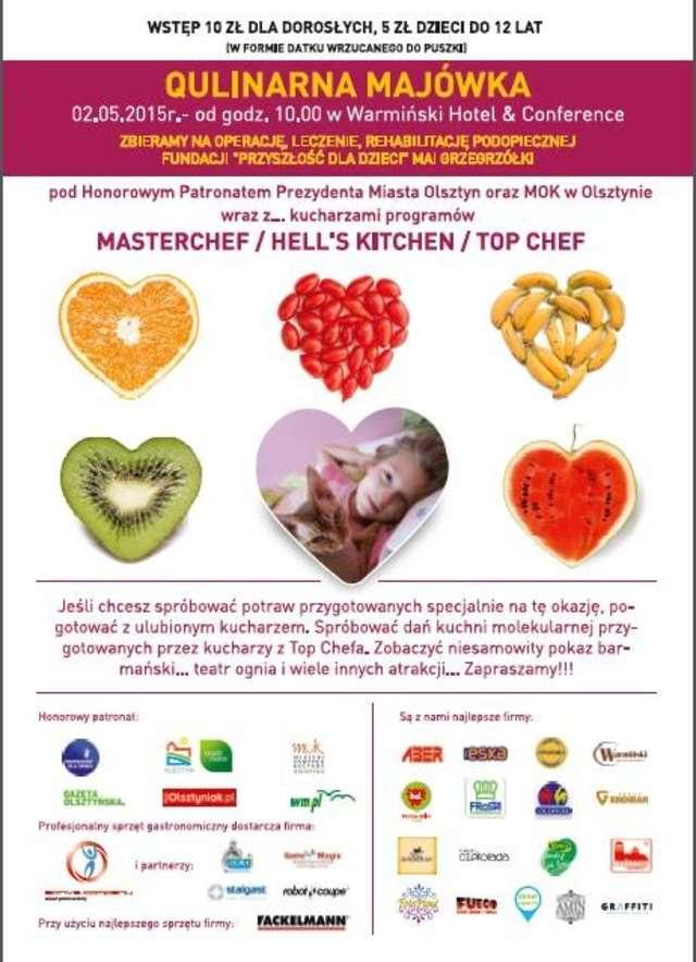 Kucharze z programu Master Chef, Top Chef i Hell's Kitchen pomogą 13-letniej Mai - full image