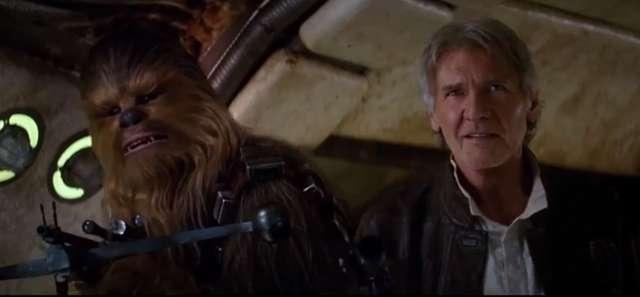 Han Solo w drugim zwiastunie 7 części Gwiezdnych Wojen! - full image