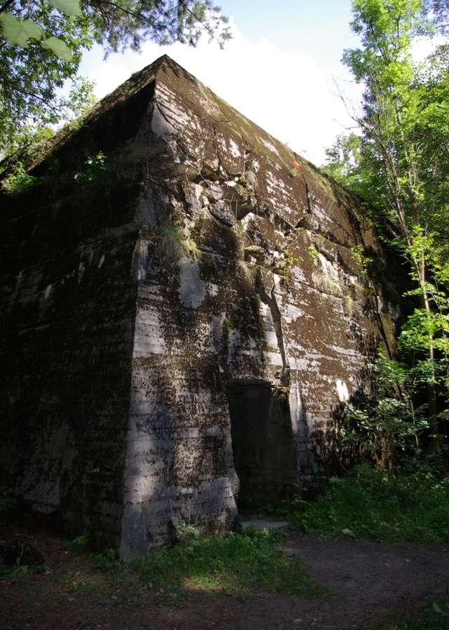 Jeden z bunkrów byłej kwatery szefa SS w Pozezdrzu - full image