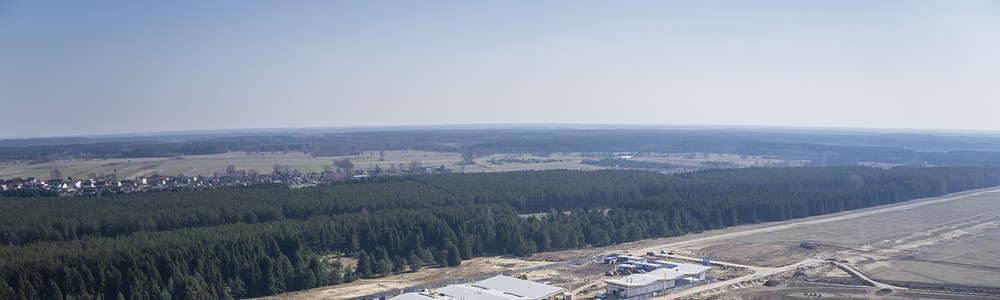 Lotnisko Olsztyn-Mazury przetestuje oświetlenie nawigacyjne