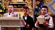 Uczniowie trójki dla Ojca Świętego