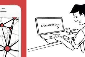 """Napisz """"chceinternet.pl!"""" i zrób zdjęcie! Do wygrania nagrody!"""