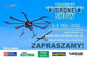 Mazury Drone Show w ramach Wojskowej Majówki