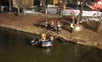 Samochód wpadł do kanału. Nie pierwszy raz